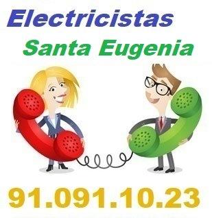 Telefono de la empresa electricistas Santa Eugenia